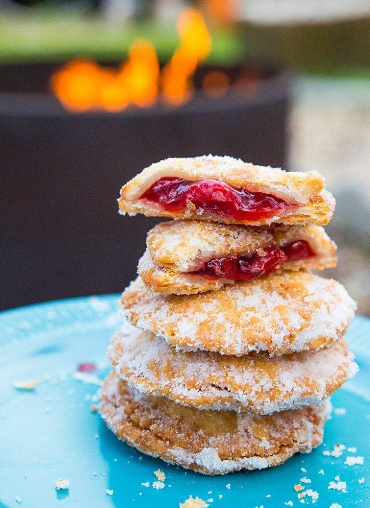 Campfire Cherry Hand Pies | The Kitchen Magpie