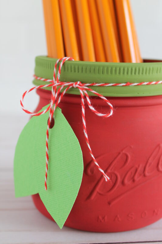 apple mason jar craft