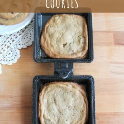 camp cooker cookies recipe