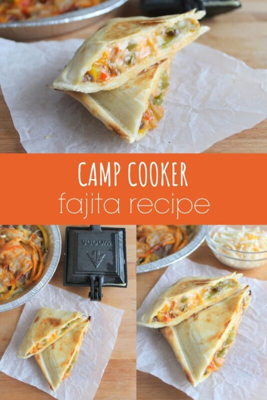 Camp Cooker Fajita Recipe