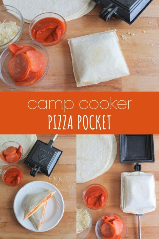 Camp Cooker Pizza Pocket