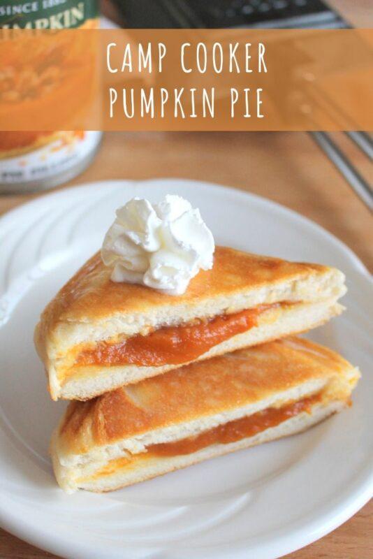 Camp Cooker Pumpkin Pie Recipe