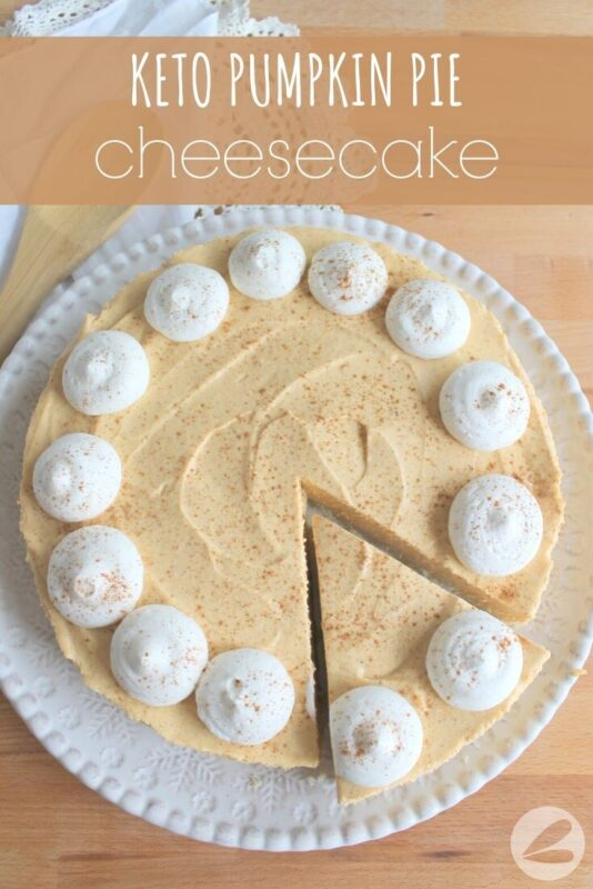 Keto Pumpkin Pie Cheesecake Recipe