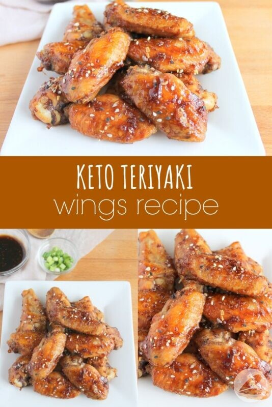Keto Teriyaki Wings Recipe