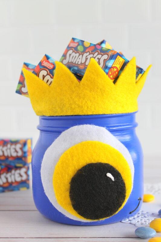 monster mason jar craft