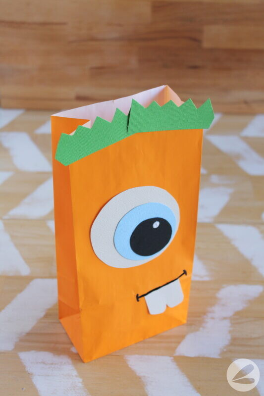 monster paper bag craft