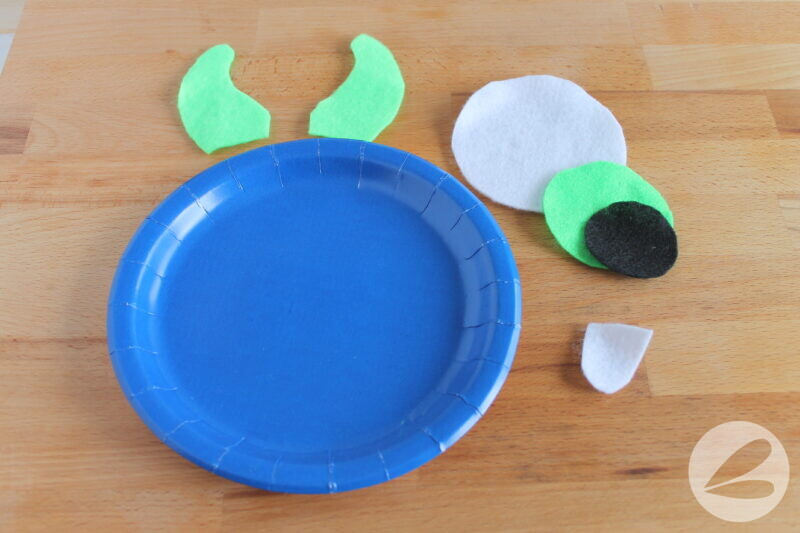 monster paper plate craft