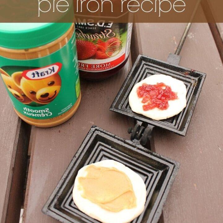 Pie Iron Peanut Butter & Jam Recipe
