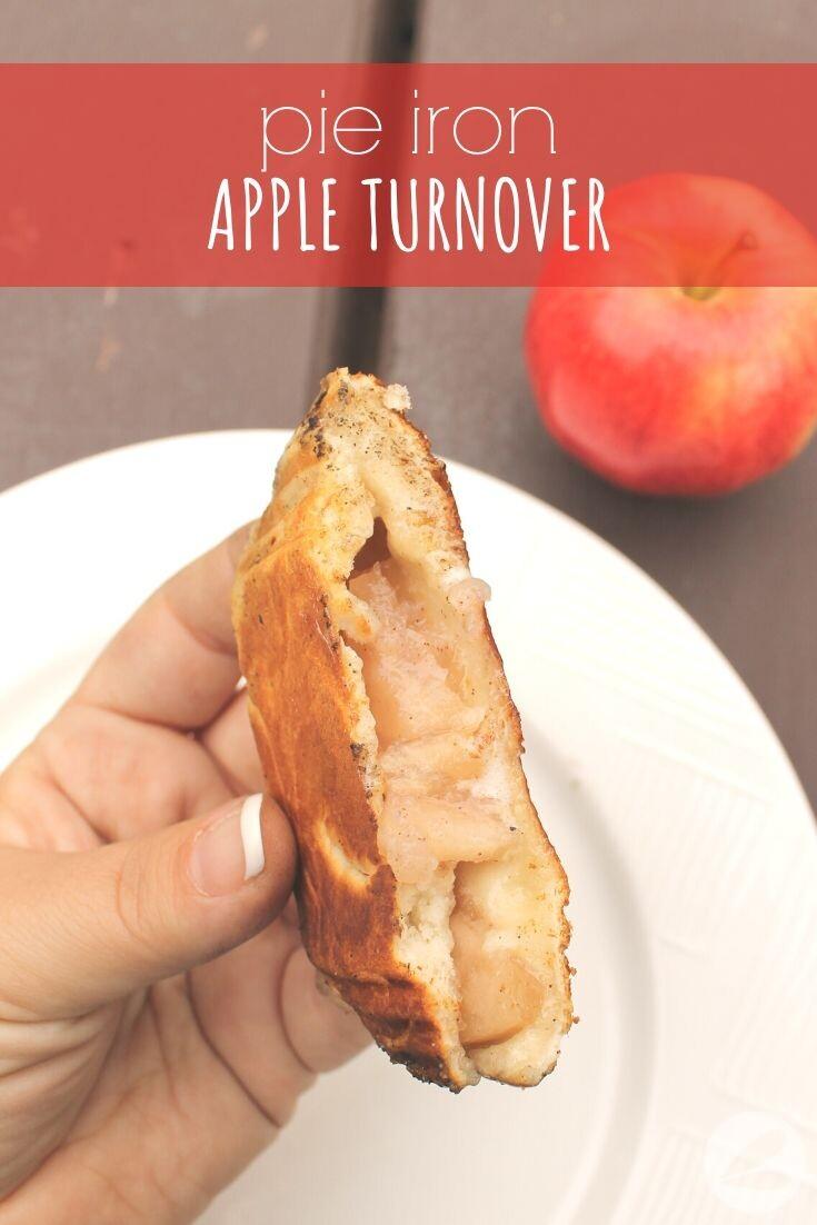 Pie Iron Apple Turnover Recipe