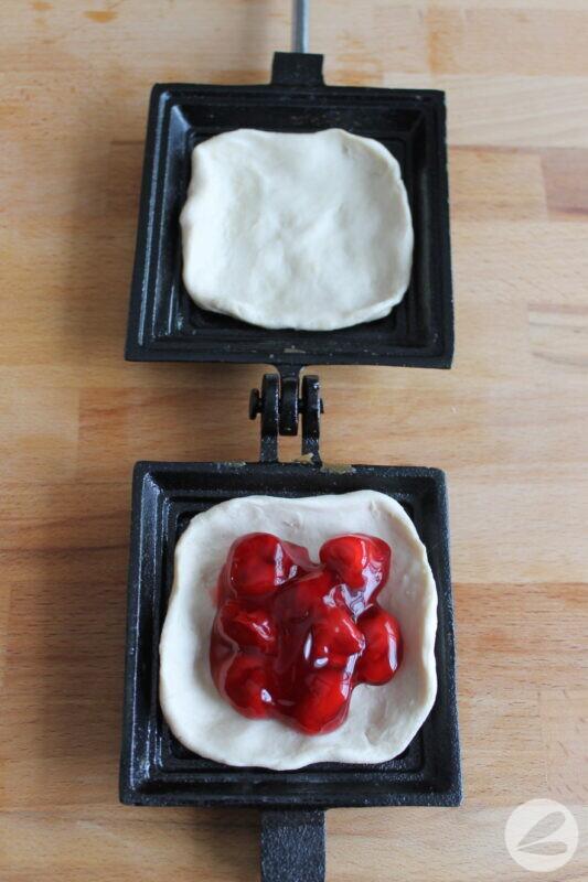 pie iron cherry pie recipe