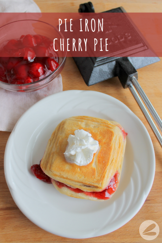 pie iron cherry pie recipe