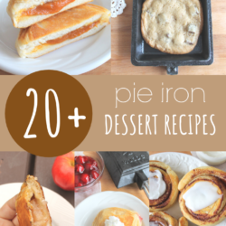 pie iron dessert recipes