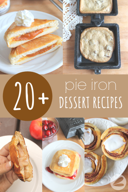 20+ Pie Iron Dessert Recipes
