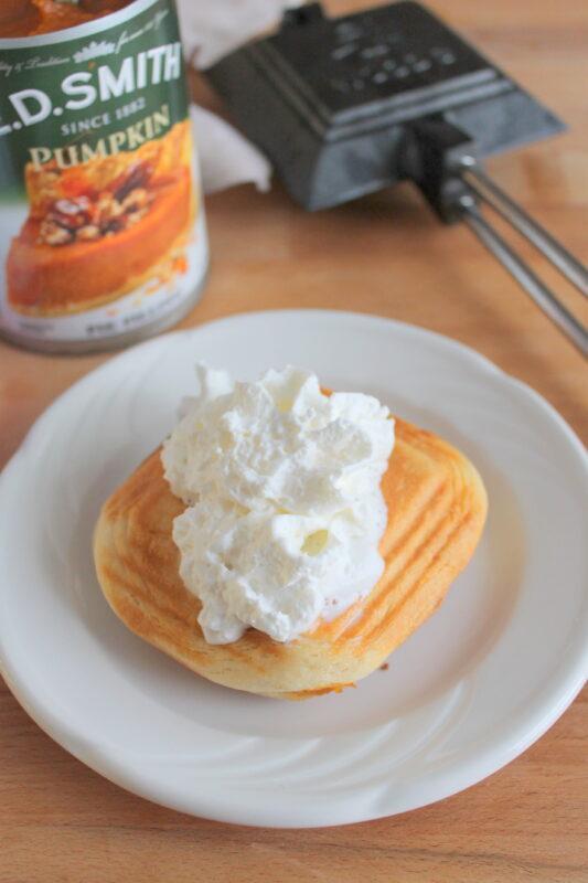 pie iron pumpkin pie recipe