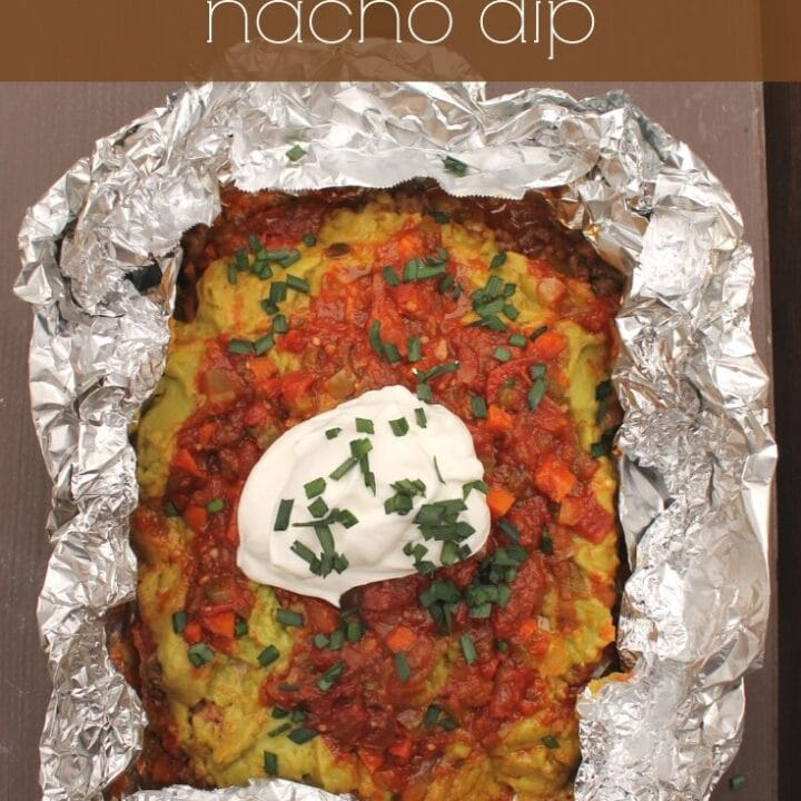 Tinfoil Packet Nacho Dip Recipe