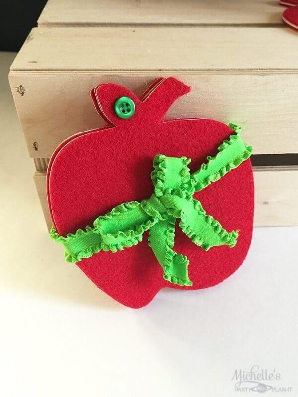 apple coaster set