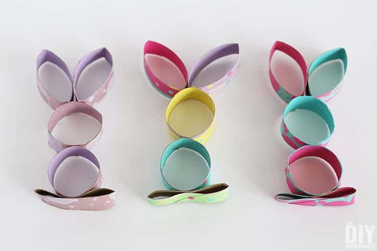cardboard tube bunny
