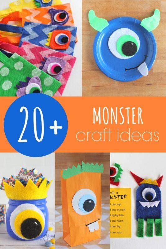 Monster Craft Ideas