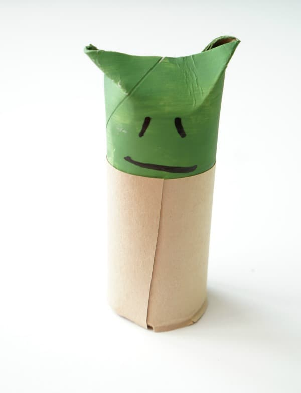 toilet paper roll yoda single