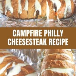 campfire philly cheesesteak recipe