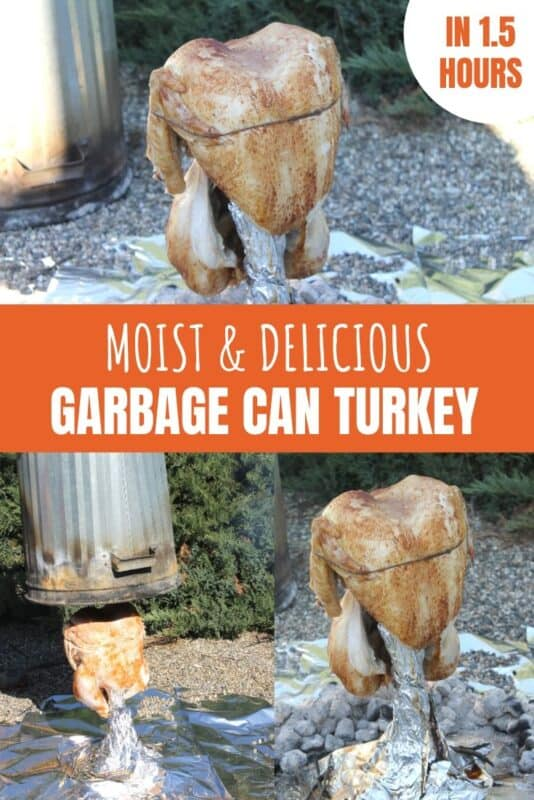 garbage can turkey