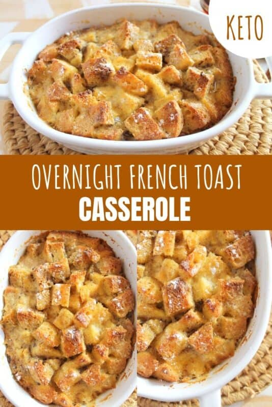 keto french toast casserole recipe