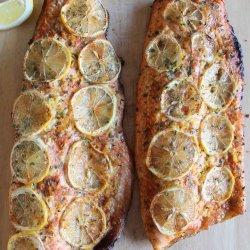 lemon bbq salmon