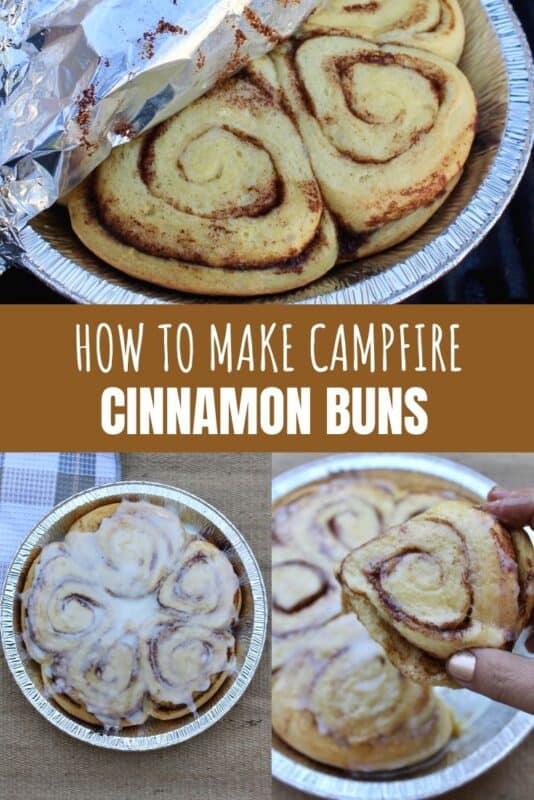 Campfire Cinnamon Buns