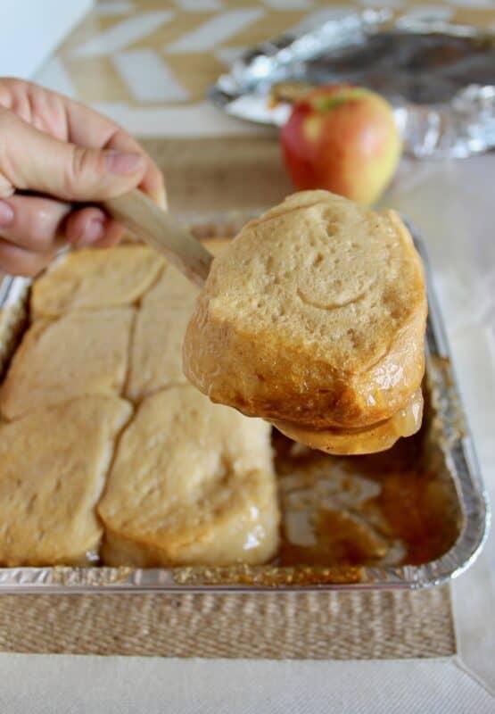 Easy Campfire Apple Pie