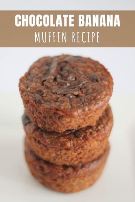 Chocolate Banana Muffin Recipe