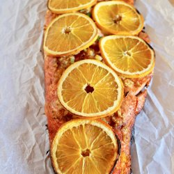 Orange Ginger BBQ Salmon