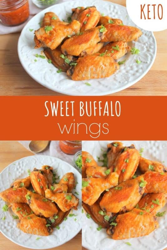 Keto Sweet Buffalo Wings
