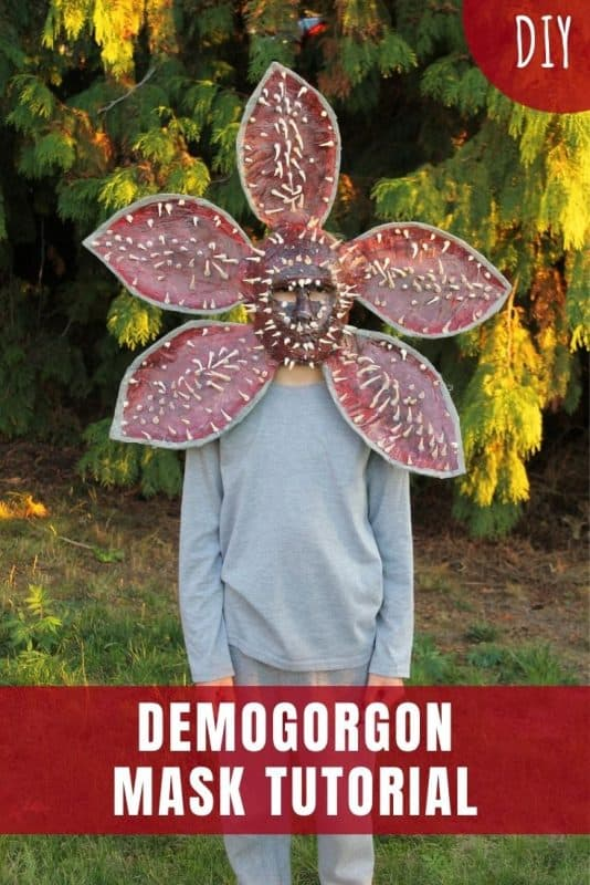 demogorgon mask tutorial