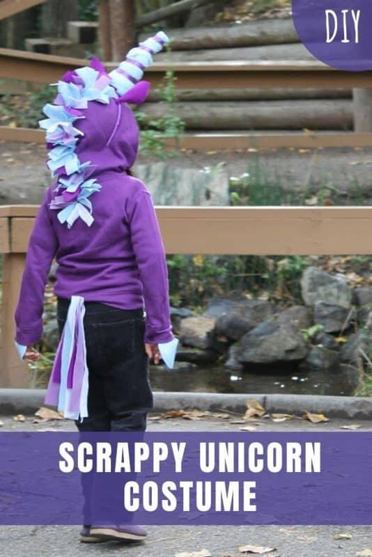 DIY Scrappy Unicorn Costume