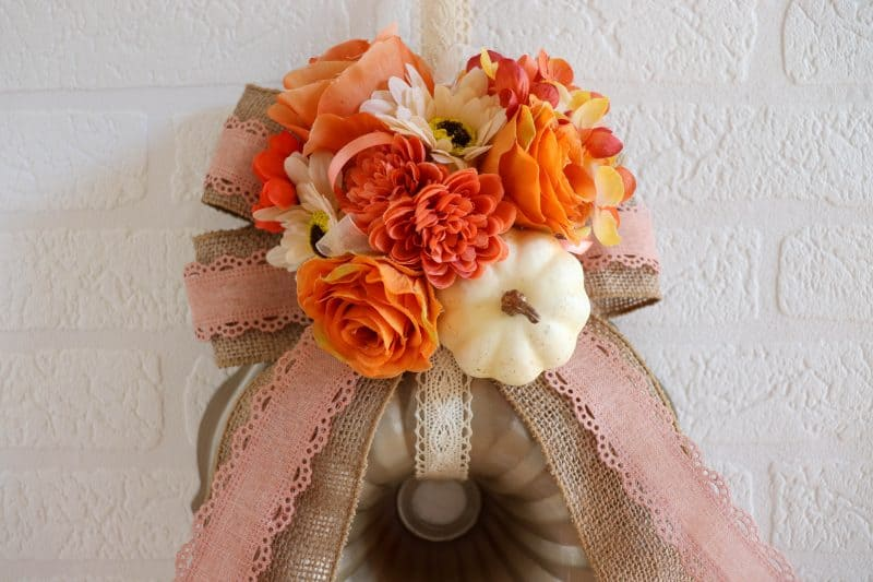 fall bundt pan wreath