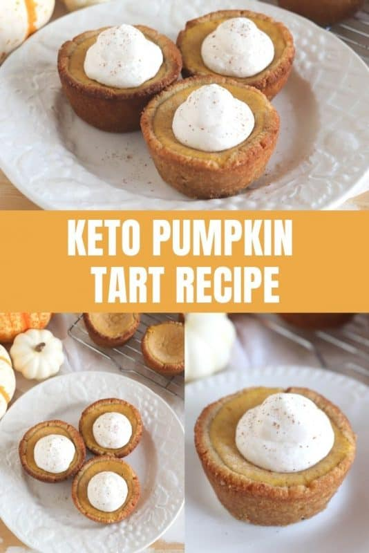 keto pumpkin tart recipe
