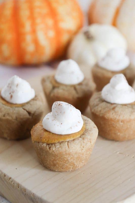 mini pumpkin tarts
