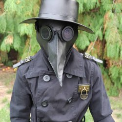 plague doctor costume pattern