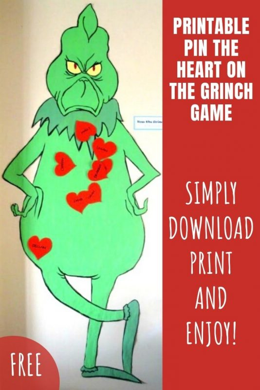 printable grinch game