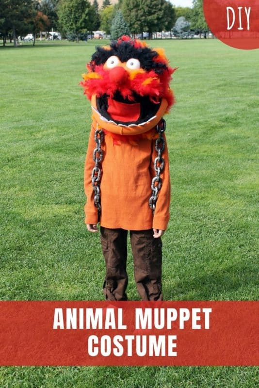 animal muppet costume diy
