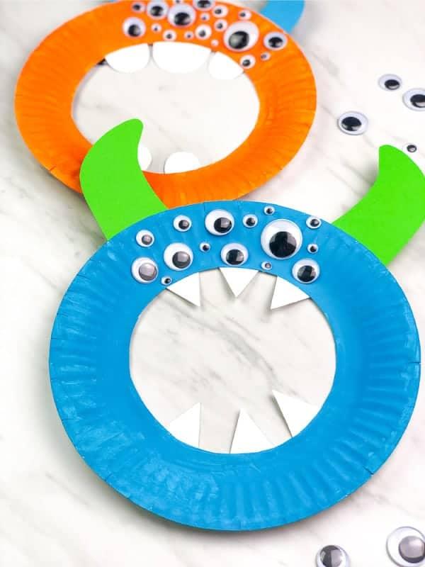 easy monster craft for preschool image