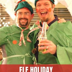 elf holiday party games