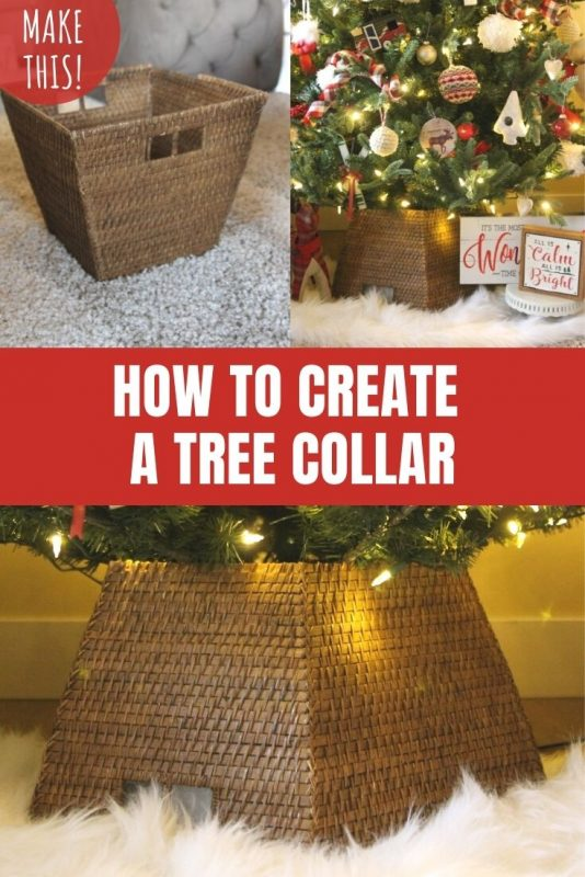 how to create a tree collar