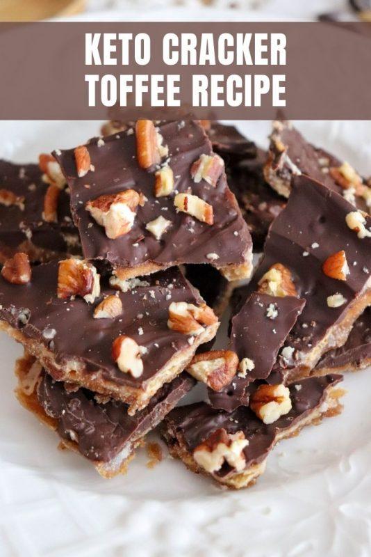 keto cracker toffee recipe