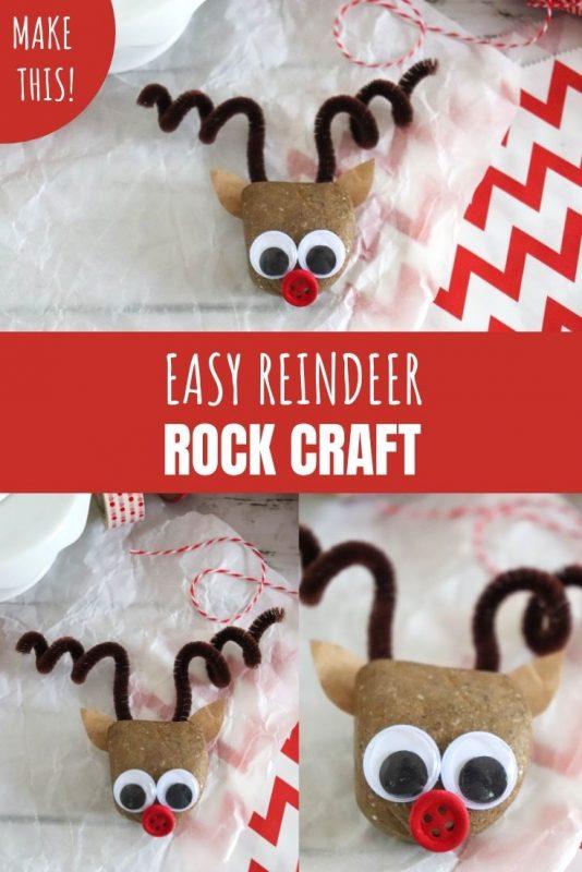 reindeer rock craft