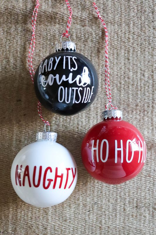Diy 2020 Ornament With Free Svg Homemade Heather