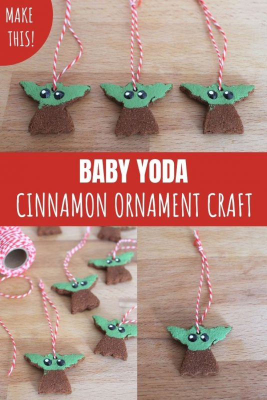 baby yoda ornament craft