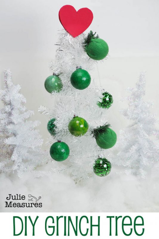 diy grinch tree ornaments