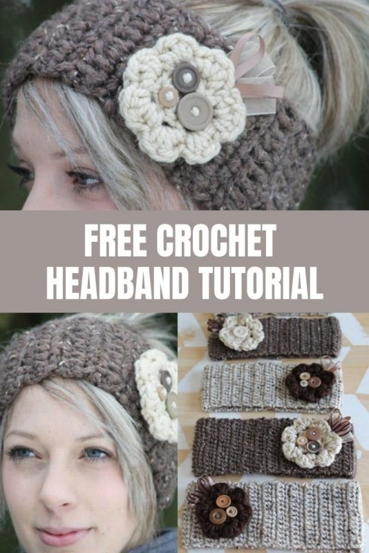 free crochet headband tutorial