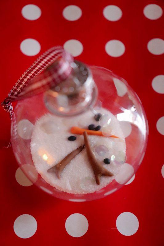 melting snowman ornament